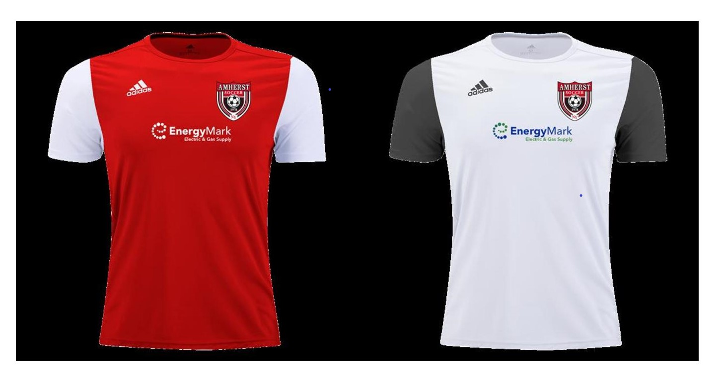 House Uniform - Use Red/White Hi Five or Adidas brand House kit for one more year!